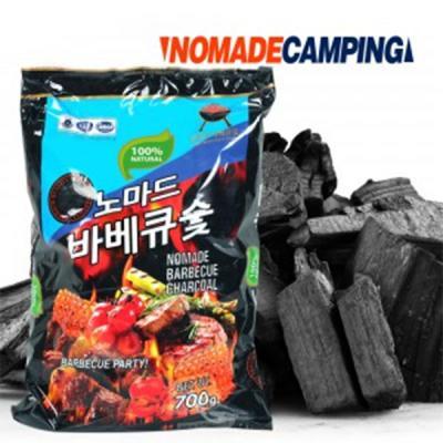 노마드 바베큐숯(700g) 바베큐 참숯(1kg) 숯 바베큐