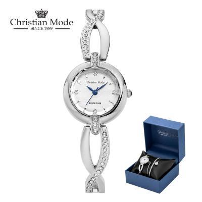 크리스챤모드 여성 팔찌 메탈 시계