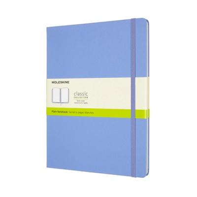 몰스킨 클래식노트-플레인/하이드레인저 블루-하드 XL