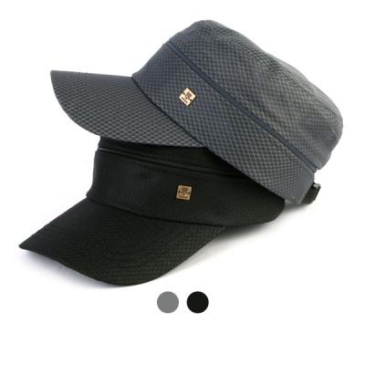 [디꾸보]빅사이즈 지퍼 투웨이 군모 썬캡 모자  HN621