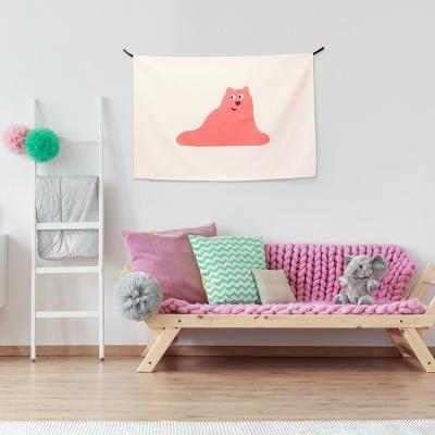 패브릭 포스터 / 고양이의 생각