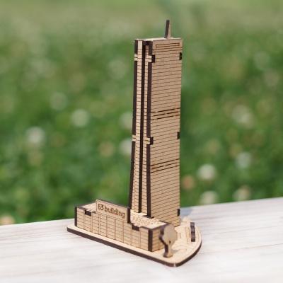 3D입체퍼즐 나무퍼즐 63빌딩 만들기 수업 놀이키트 장난감 집콕놀이 취미