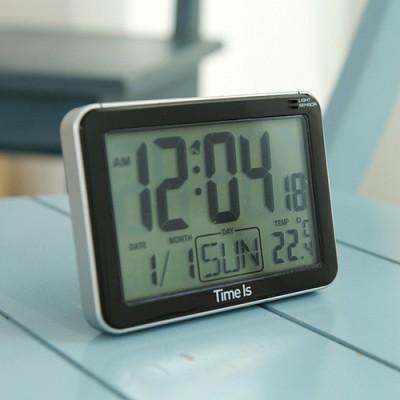 플렛 디지털 알람 탁상시계