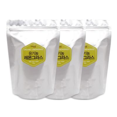 차예마을 허브차 유기농 레몬그라스 50g 리필 x 3팩