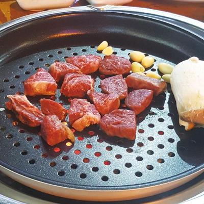 하트만 캠핑팬 3종세트 바베큐팬+캠핑팬+다용도집게