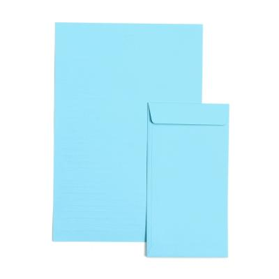 1000 컬러편지지- 하늘색