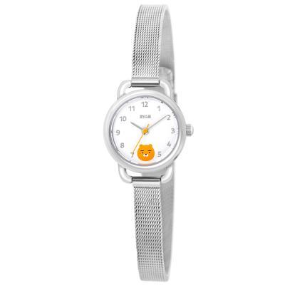 [카카오프렌즈] 심플메쉬밴드 손목시계 라이언