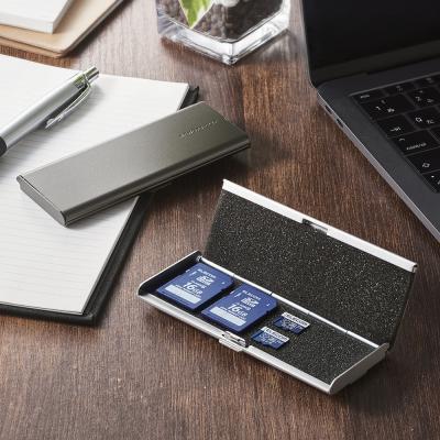 [엘레컴]SD & micro SD 메모리 카드 클립/케이스 멀티