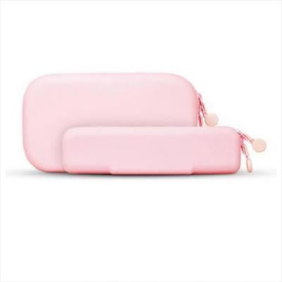 미니멀 핑크 방수 필통파우치 대형 1개