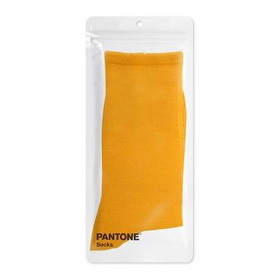 팬톤삭스 망고주스 Mango Juice 단색 컬러 장목 양말