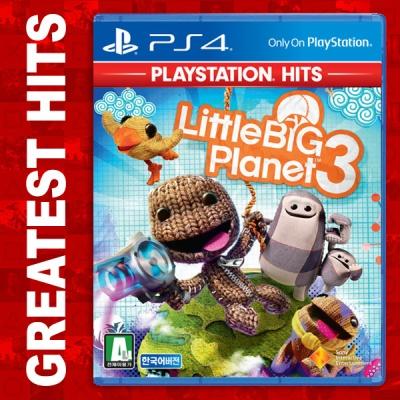 PS4 리틀빅플래닛3 PS HITS 21종 택1(타이틀선택필수)