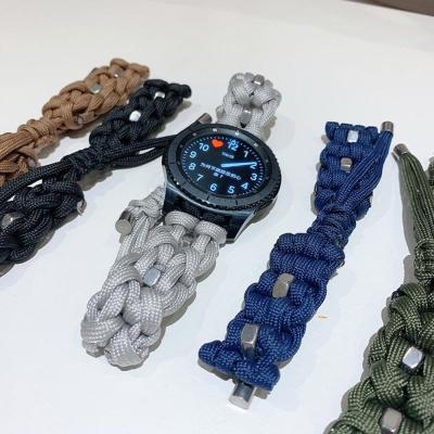 갤럭시워치 기어 파라코드 스트랩 밴드 시계줄 22mm