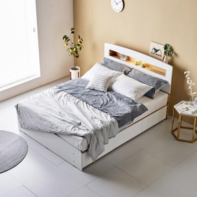 소킨 모던 LED 수납형 퀸 침대 Q