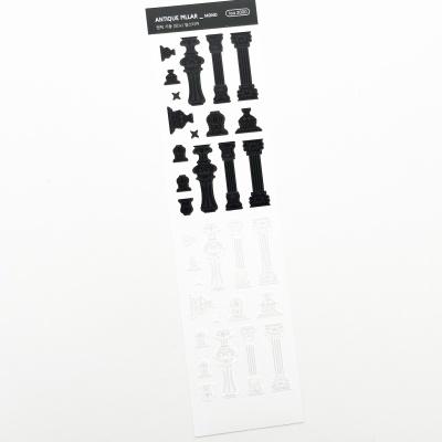 푸푸남 엔틱기둥 [모노] 씰스티커