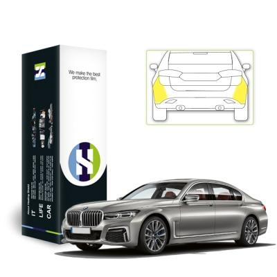 BMW 7시리즈 2019 자동차용품 PPF 필름 리어범퍼 세트
