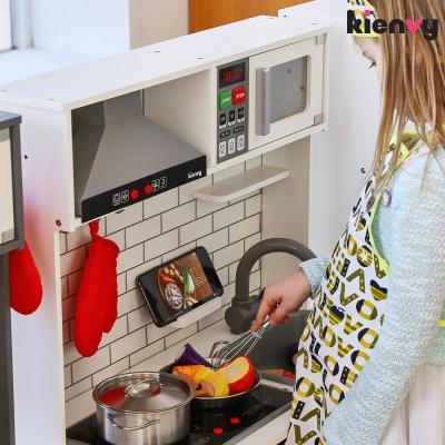 키앤비 더셰프마스터주방놀이+냉장고세트_화이트