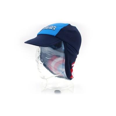 마블 캡틴아메리카 심볼 아동 플랩캡