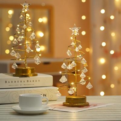 [클라모프] 크리스마스 크리스탈 트리 무드등