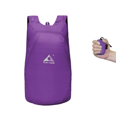 플레이킹 초경량 폴딩 백팩(퍼플)/휴대용 접이식백팩
