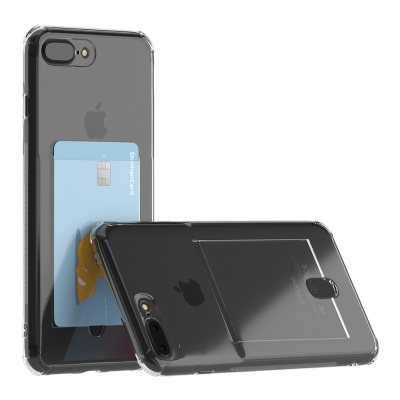 아이폰 7,8,se2 아이스핏 에드온 TPU 카드 케이스