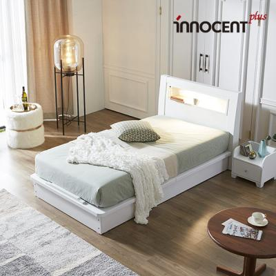 [이노센트] 리브 라이젠 LED 평상형 침대 SS