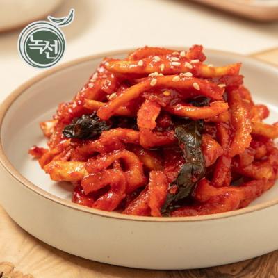 [녹선] 맛무말랭이무침 150g