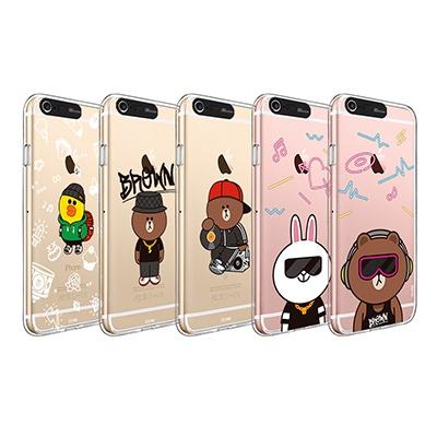 라인프렌즈 iPhone 6(s)/6(s) Plus BEAT BROWN 2 CASE