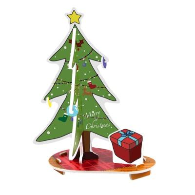 크리스마스 카드-블링블링 크리스마스 트리