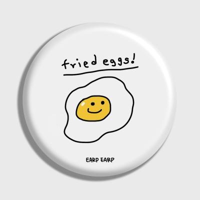 [어프어프] 손거울 Fried eggs-white