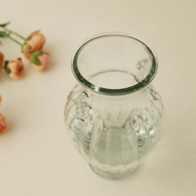 엔틱 귀걸이 인테리어 유리꽃화병