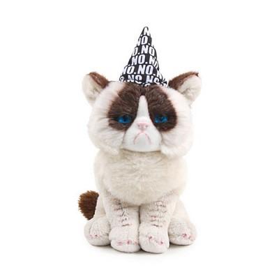 그럼피 고양이 생일축하인형 - G4050493