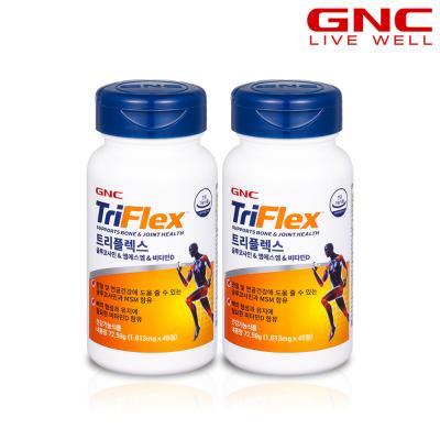 [GNC] 트리플렉스(글루코사민+MSM+비타민D) 45정 X2개