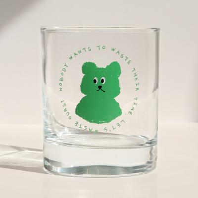 lazybear glass 300ml_Green