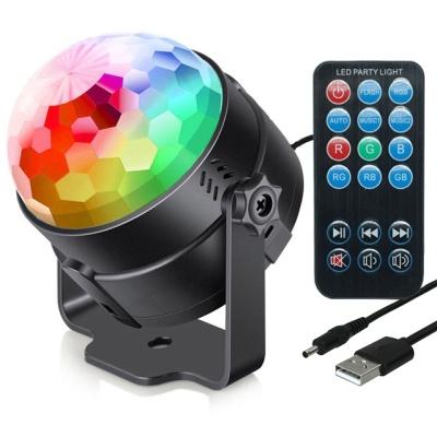 사운드판다 휴대용 파티용 LED 조명 미러볼 M-101