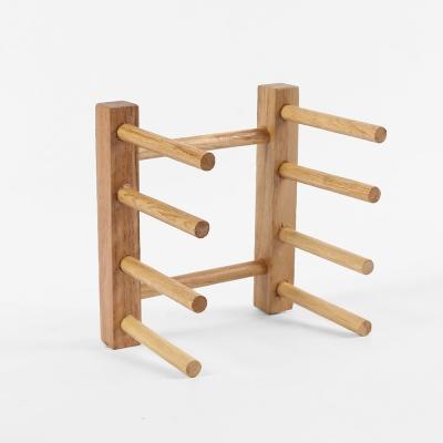 DIY 원목 접시꽂이(3열)
