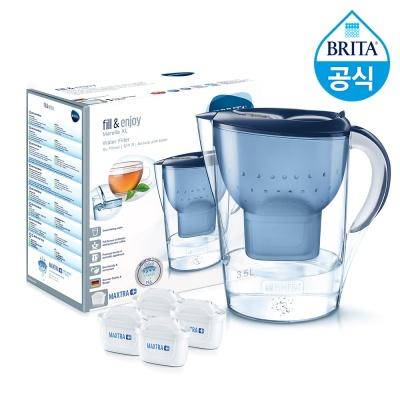 브리타 마렐라XL 3.5L 블루+필터 총 4개월분