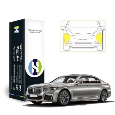 BMW 7시리즈 2019 PPF 필름 프론트범퍼 세트
