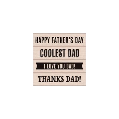 우드스탬프 father's day