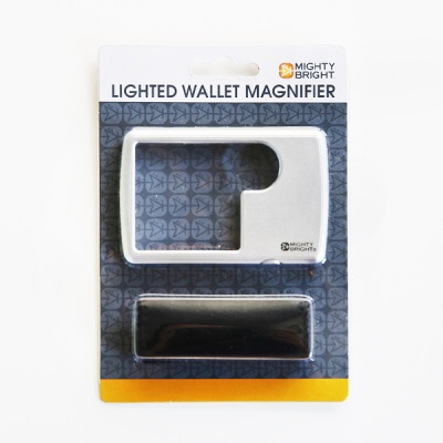 [Mighty Bright]LED Wallet Magnifier