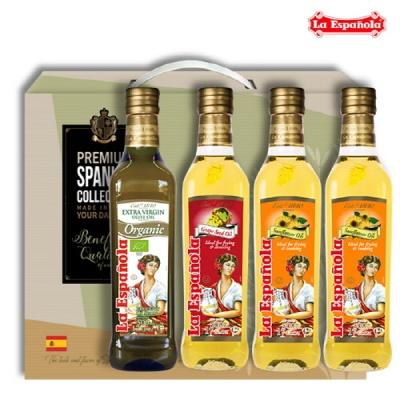 [에스파놀라]올리브유+포도씨유+해바라기2 선물세트