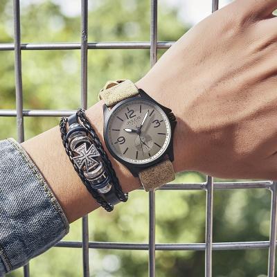 [쥴리어스 옴므 공식] JAH-110 남성시계 가죽시계