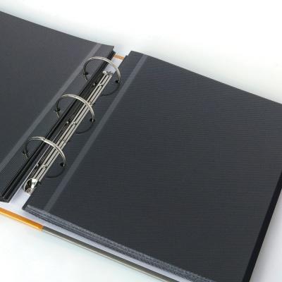 작은사진관 중형바인더앨범 접착식,흑지,포켓식앨범
