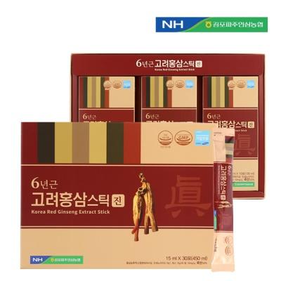 김포파주인삼농협 고려홍삼스틱(진)15ml x 30포