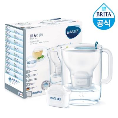 브리타 정수기 스타일XL 3.6L+필터1개월분(기본구성)