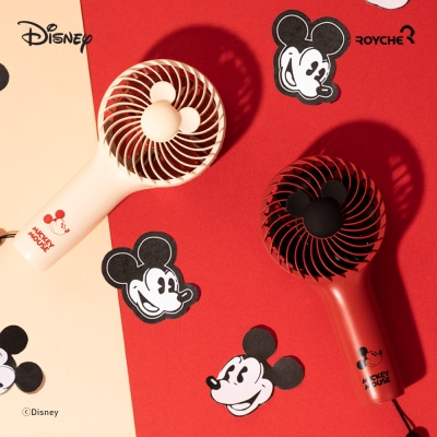 [로이체] 디즈니 미키마우스 미니 핸디 선풍기
