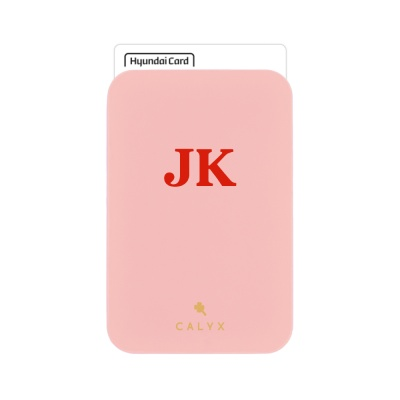 캘릭스 스마트폰 부착형 인쇄 카드포켓 (기본폰트)