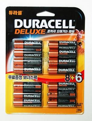 듀라셀 알카AA(8+6알)