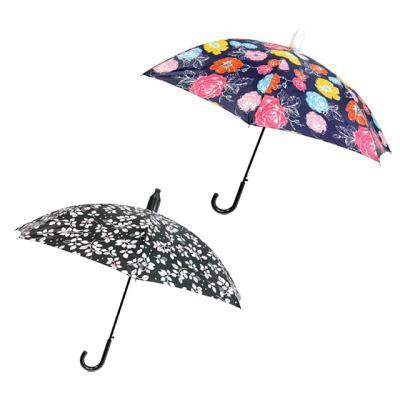 캡 커버 자동 장우산(꽃)