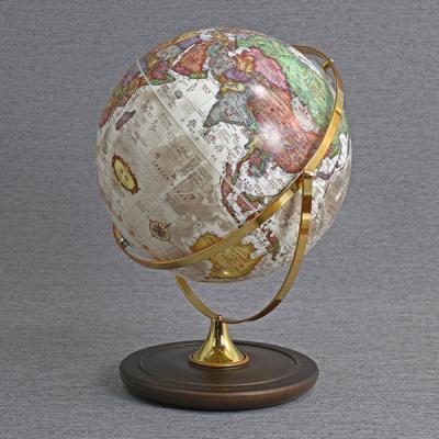[무료배송][맵소프트]30cm 데스크 원목 지구본