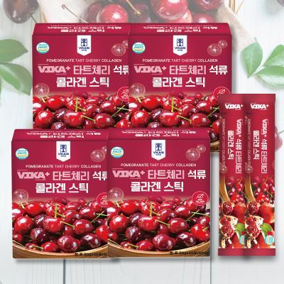 몽모랑시 타트체리 석류 콜라겐 스틱 4BOX (120포)